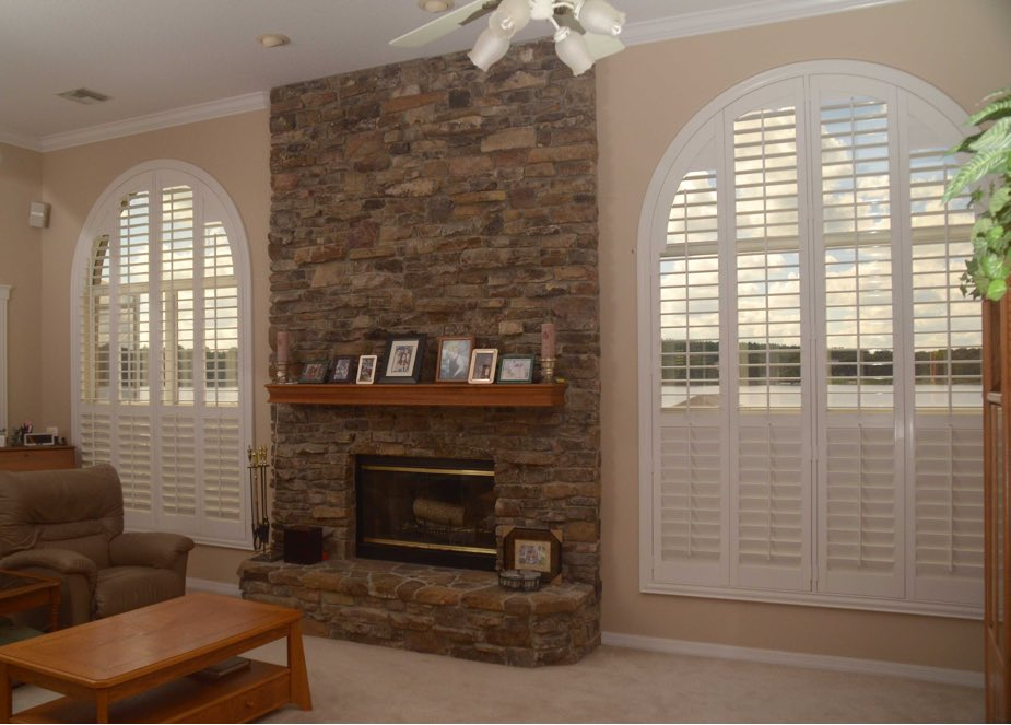 Arched Shutters In Denver | Sunburst Shutters Denver, Colorado