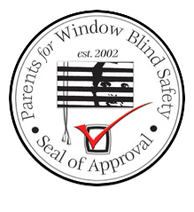 Seal of Approval by Parents for Window Blind Safety in Denver