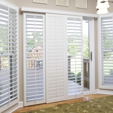 Denver Sliding Patio Door Shutters