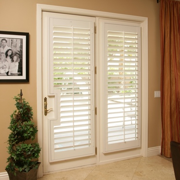 Patio French Door Shutters Denver