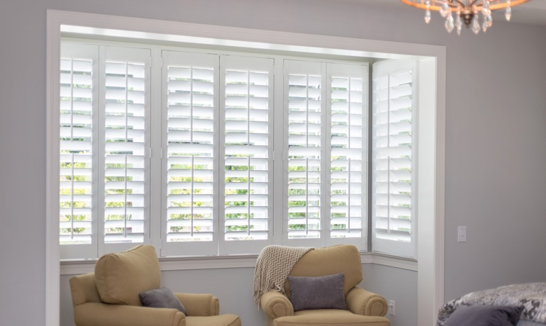 Classic shutters in Denver nook
