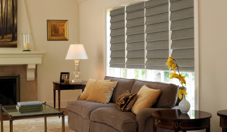 Roman Shades In Denver, Colorado