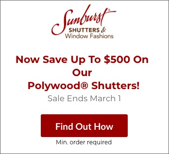 Sale on Denver Polywood Shutters
