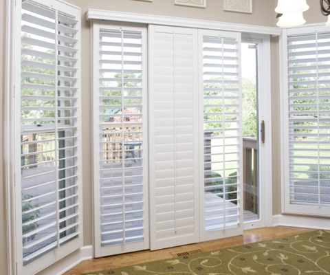 Colorado sliding door shutters