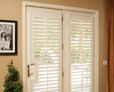 Denver french door shutters