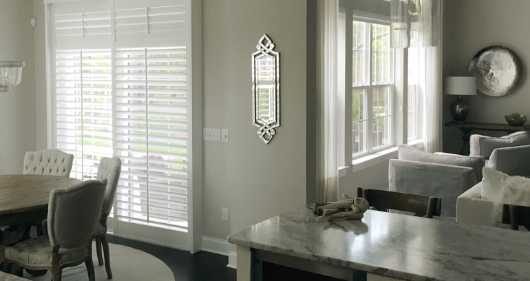 Denver kitchen patio door shutters