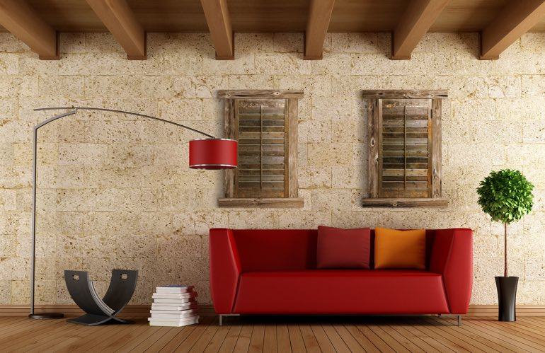 Hottest Window Treatment Trends In Colorado Springs: Reclaimed Wood Shutters